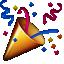 confetti cannon emoji